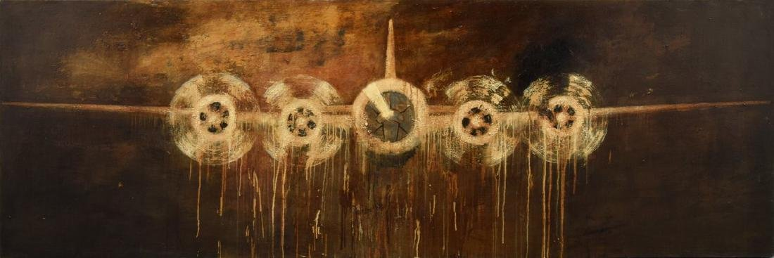 Large Paul Manes Painting