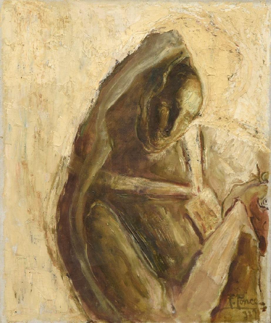 Fidelio Ponce de Leon Painting