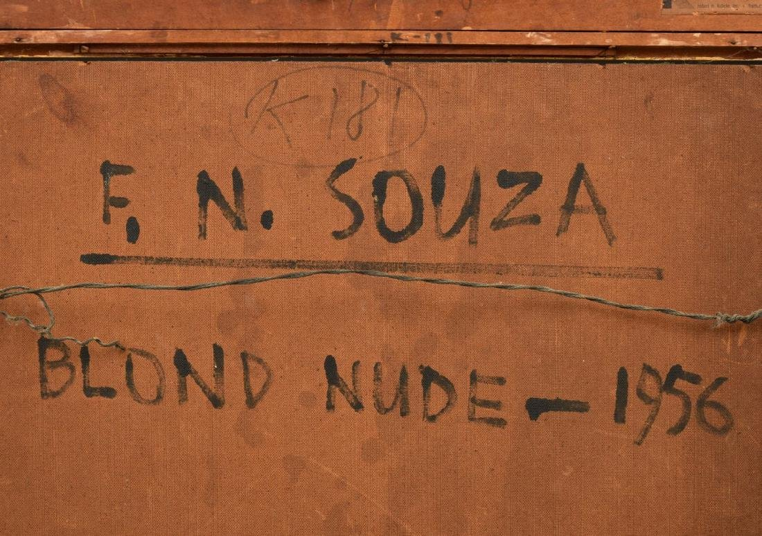 Francis Newton Souza Nude Figural Painting - 4