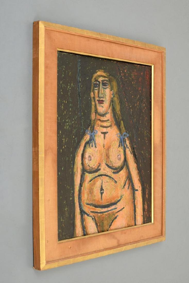 Francis Newton Souza Nude Figural Painting - 6