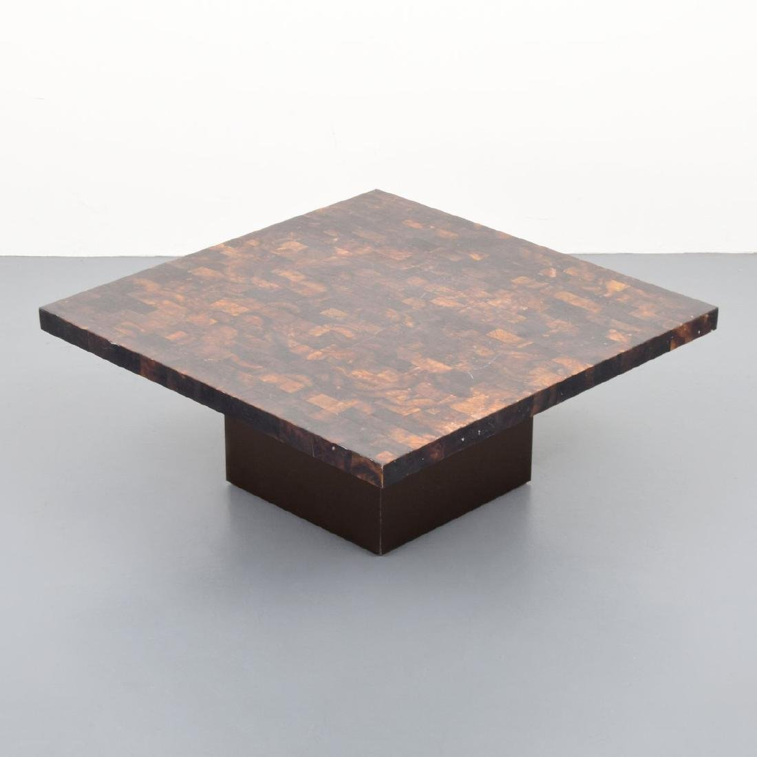 Horn Coffee Table, Manner of Karl Springer