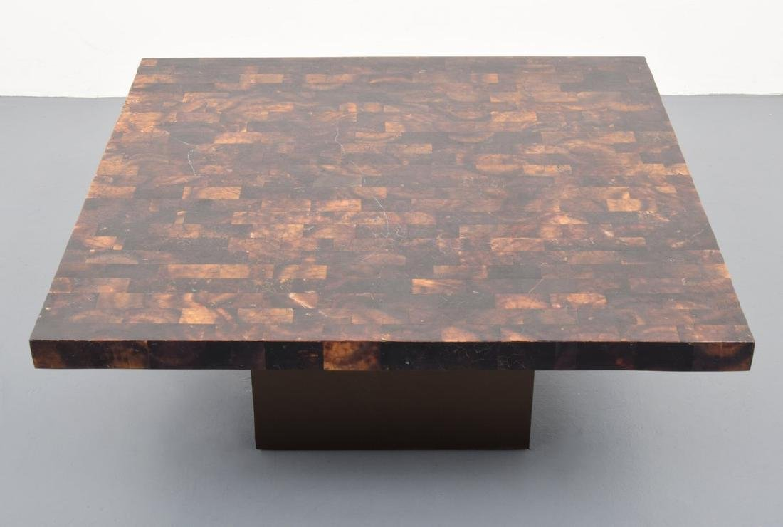 Horn Coffee Table, Manner of Karl Springer - 2