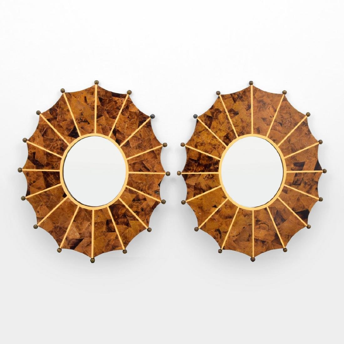 Pair of Mirrors, Manner of Karl Springer