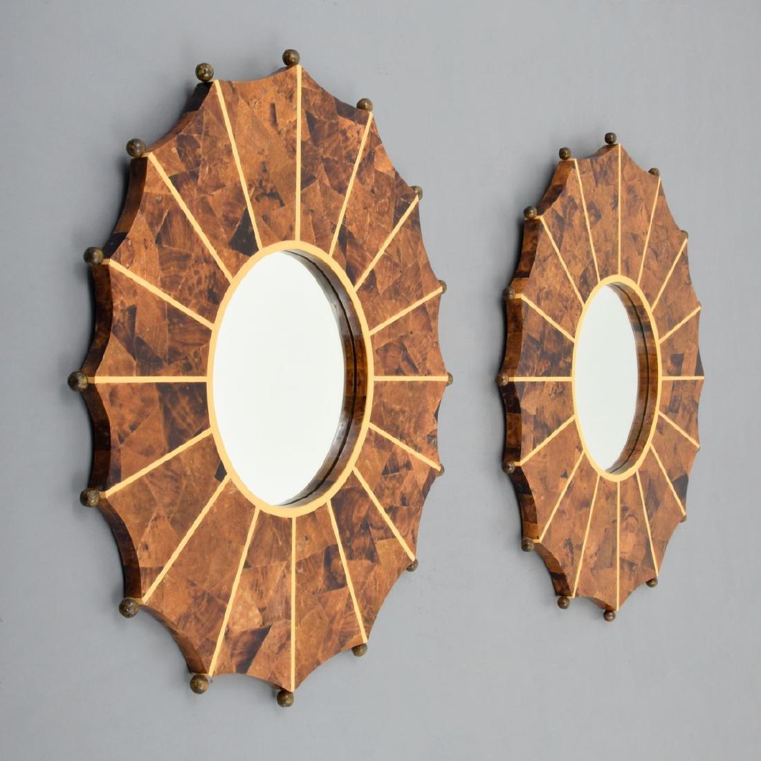 Pair of Mirrors, Manner of Karl Springer - 8