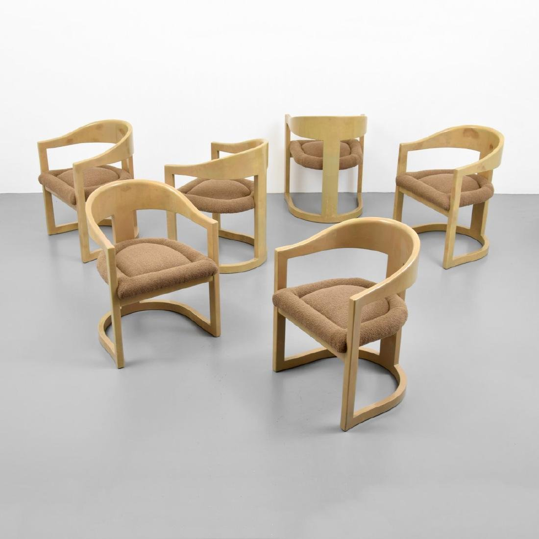 Karl Springer ONASSIS Chairs, Set of 6