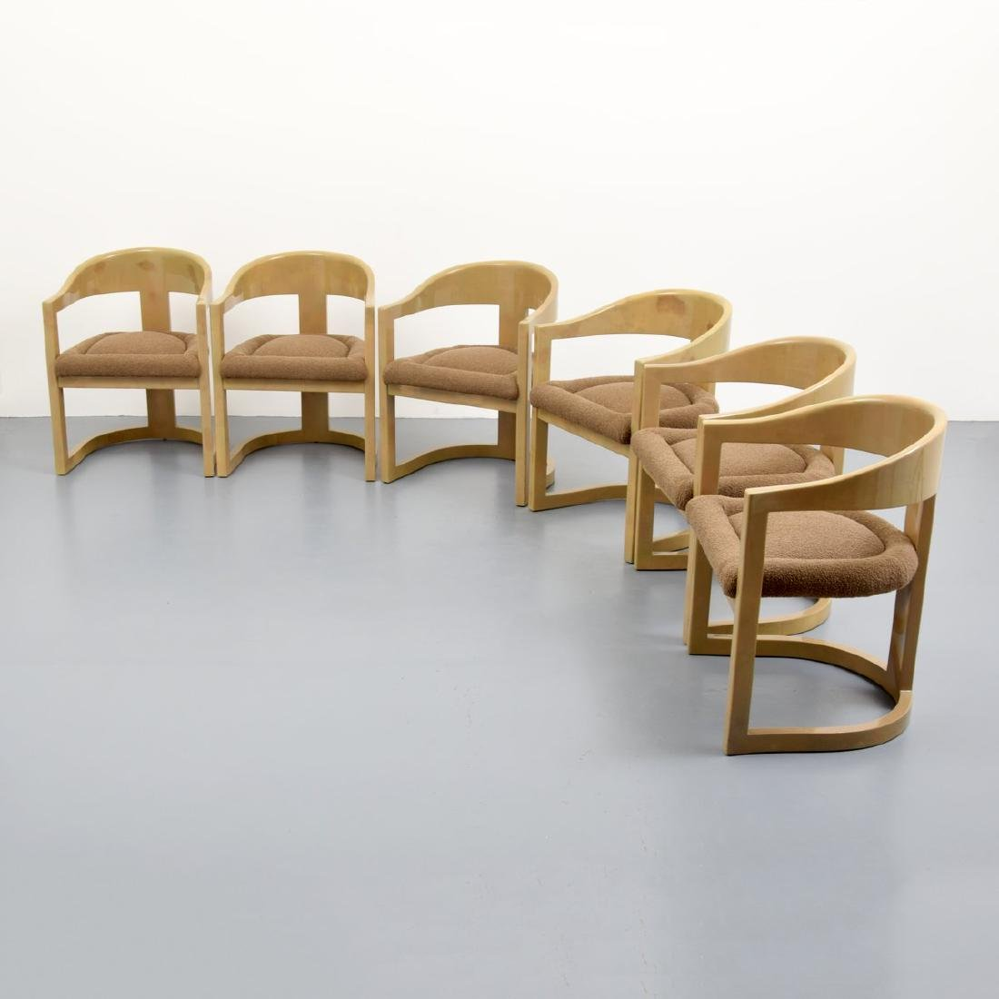 Karl Springer ONASSIS Chairs, Set of 6 - 7