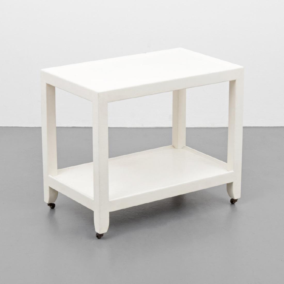 Karl Springer Telephone/Occasional Table