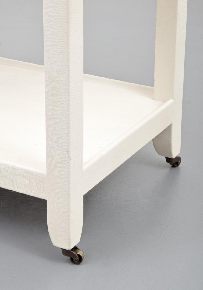 Karl Springer Telephone/Occasional Table - 2