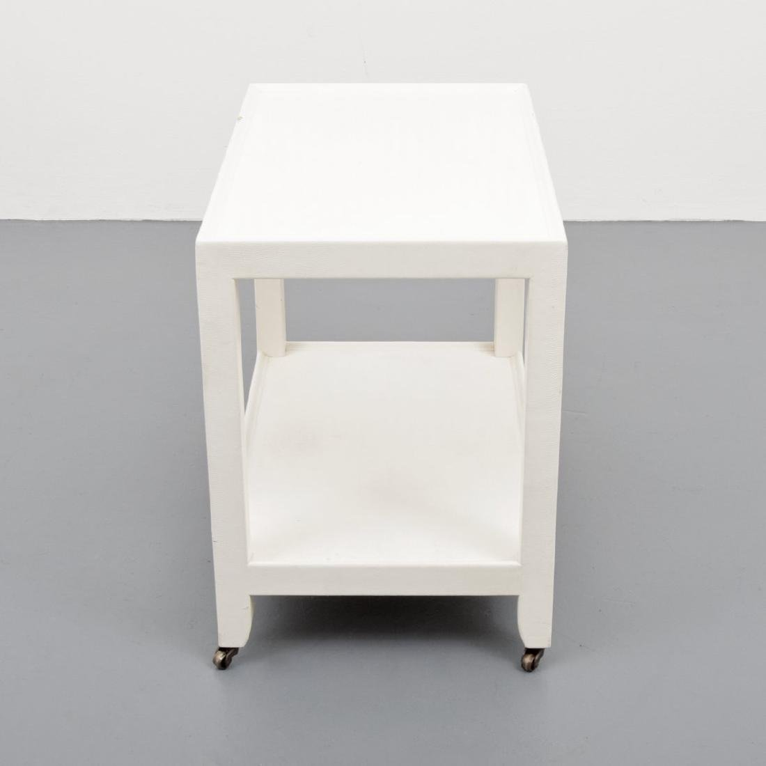 Karl Springer Telephone/Occasional Table - 3