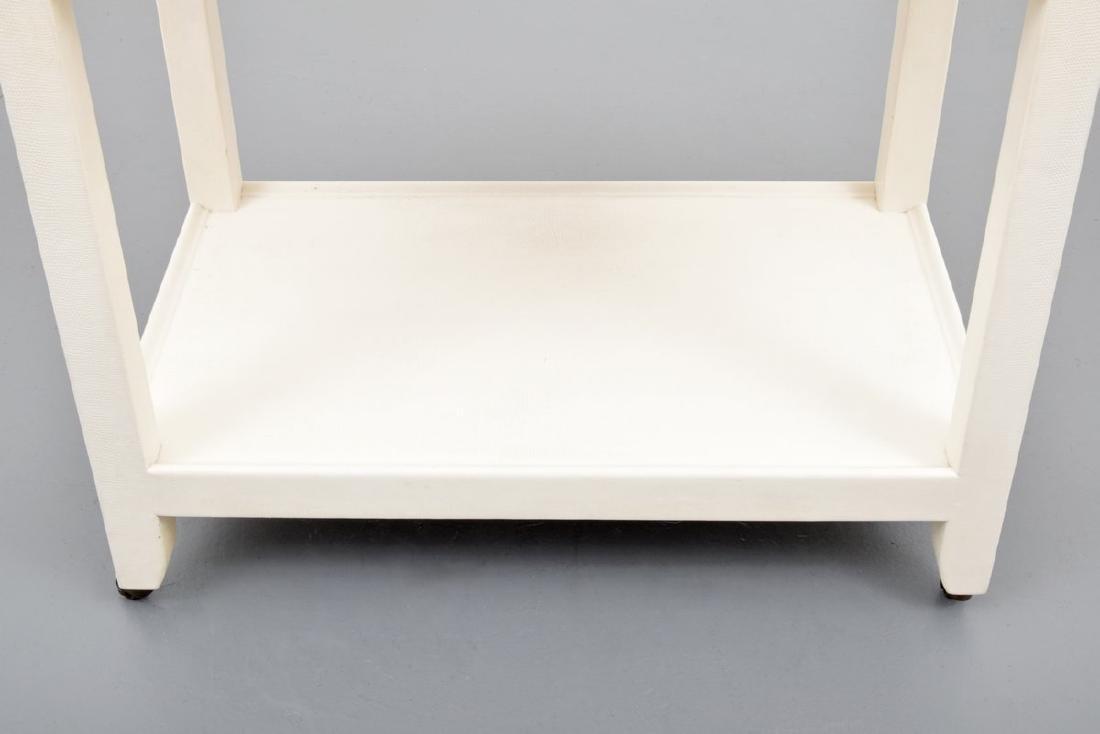 Karl Springer Telephone/Occasional Table - 4
