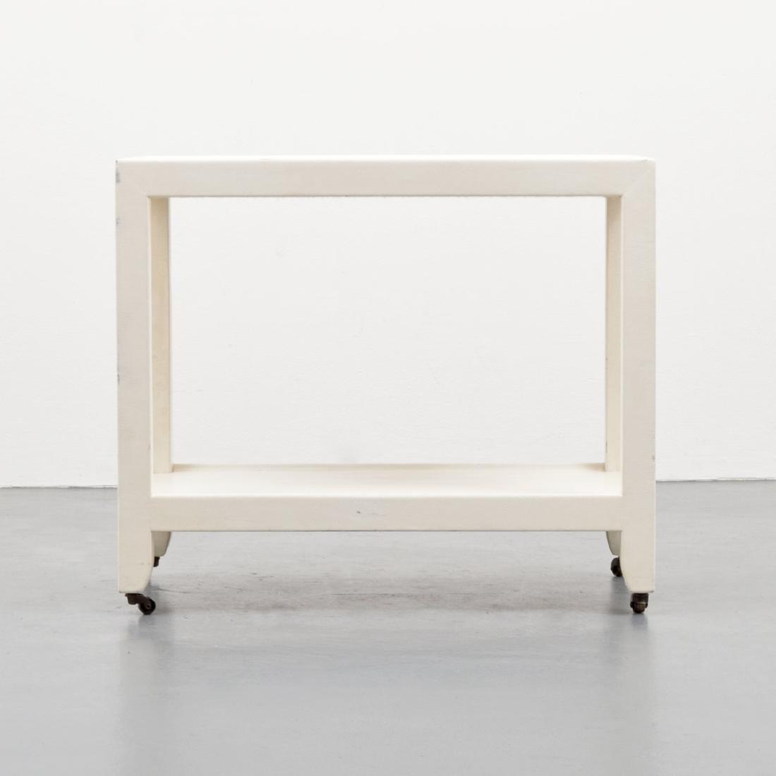 Karl Springer Telephone/Occasional Table - 8