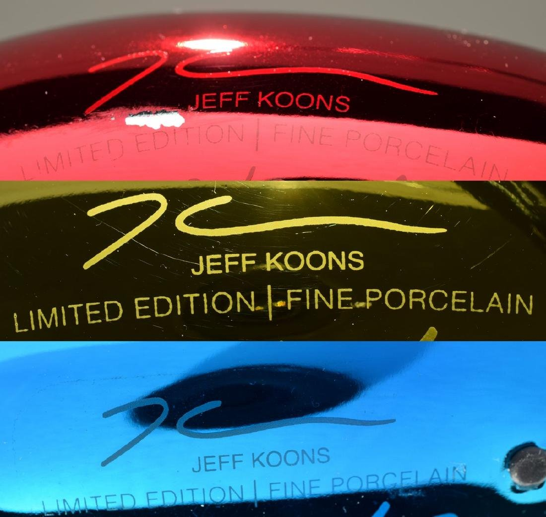 Jeff Koons BALLOON RABBIT/MONKEY/SWAN Sculptures - 10
