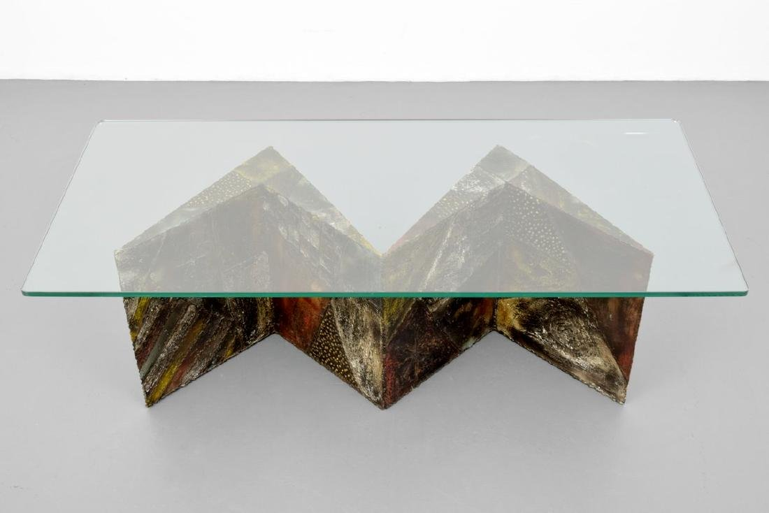 Paul Evans Sculpted ZIG-ZAG Coffee Table - 8