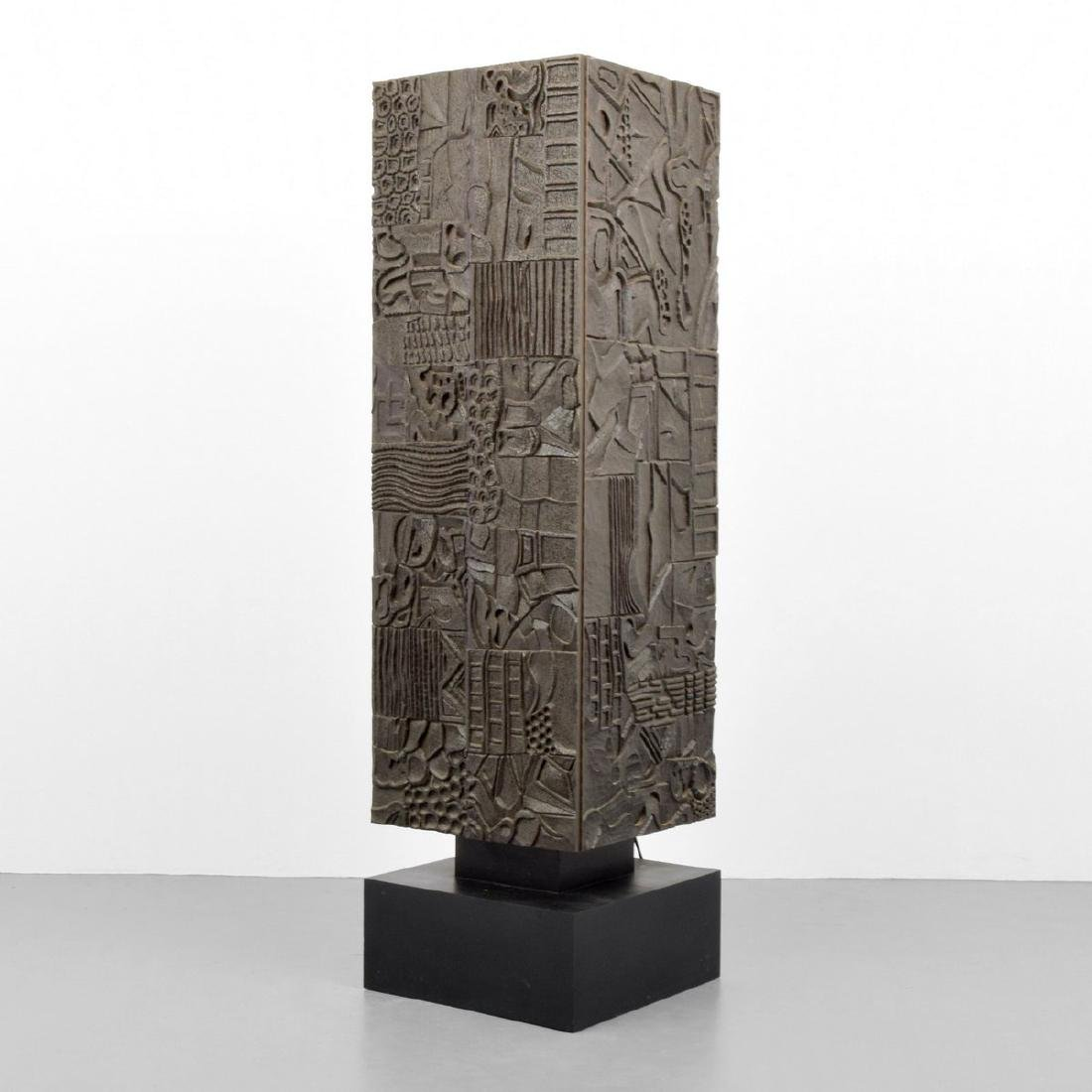 Sculptural Cabinet, Manner of Paul Evans