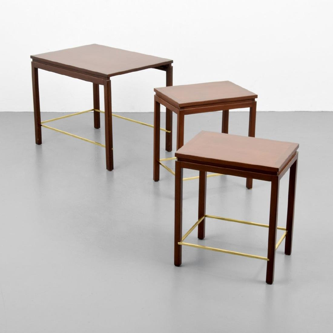 3 Edward Wormley Nesting Occasional Tables