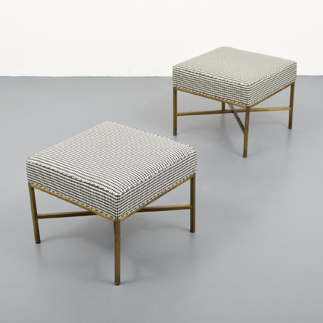 Pair of Stools Attributed to Paul McCobb - 2