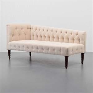 Rare Edward Wormley Recamier Chaise/Sofa