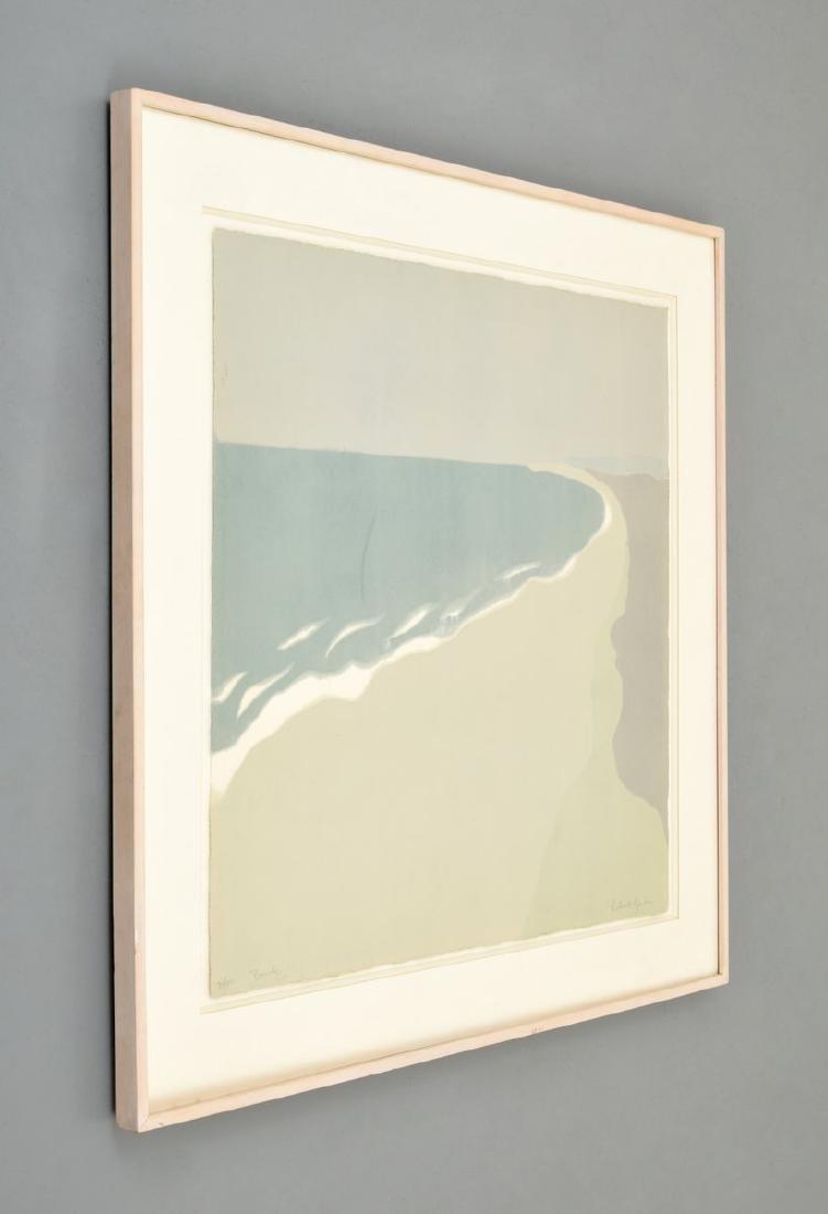 Richard Kemble BEACH Woodcut - 4