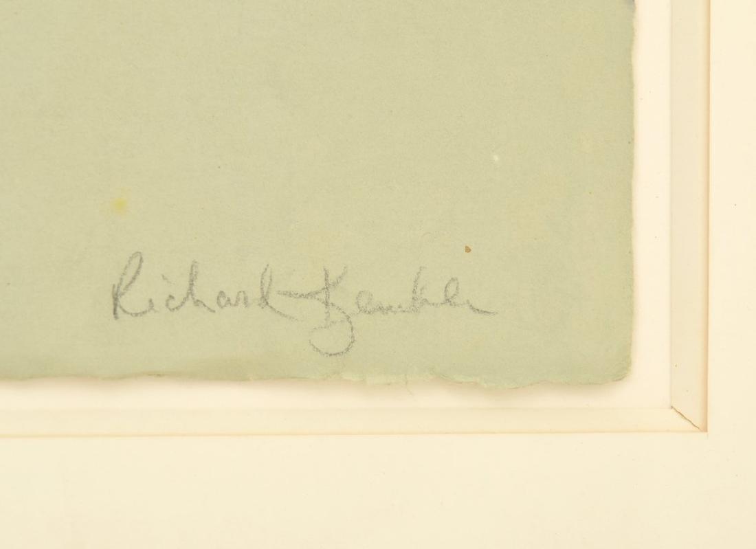 Richard Kemble BEACH Woodcut - 6