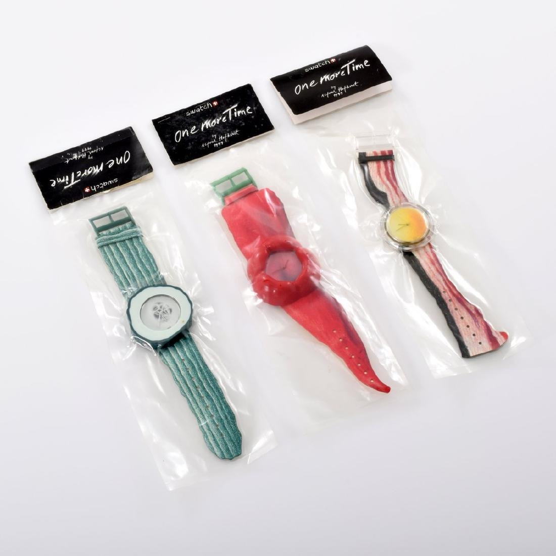 Swatch ONE MORE TIME Watches, Set of 3