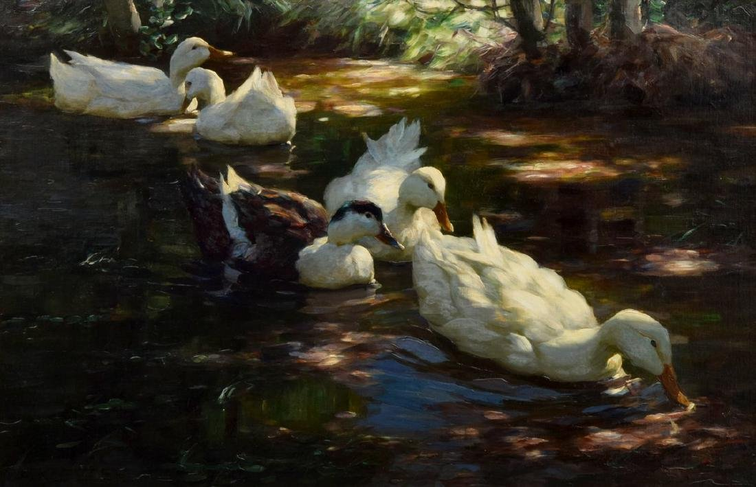 Large Alexander Koester Painting