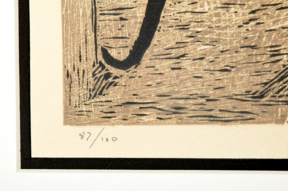Angel Botello Woodcut Print, Signed Edition - 6