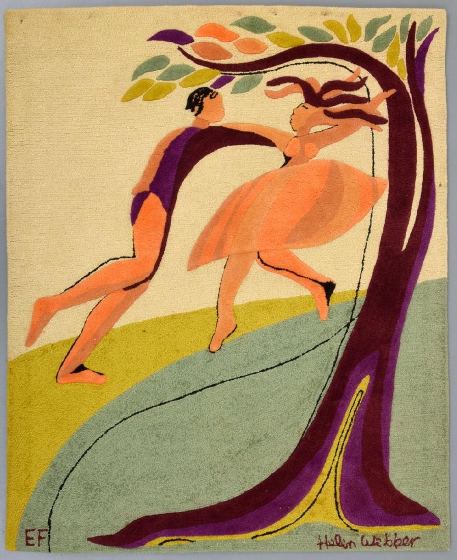 Helen Webber DANCERS Rug for Edward Fields