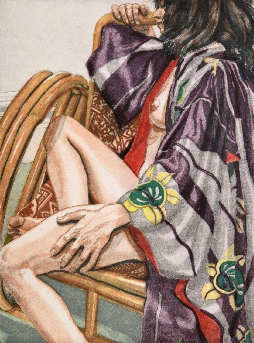 Philip Pearlstein Lithograph, Signed Edition