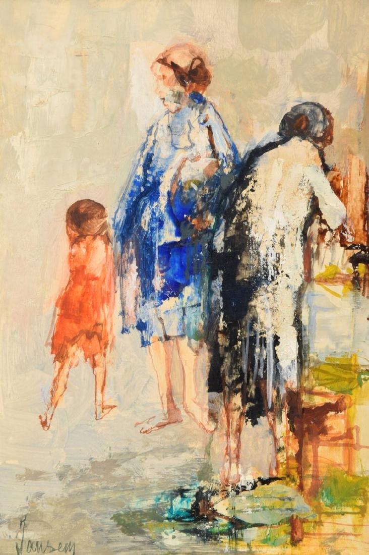 Jean Jansem Painting