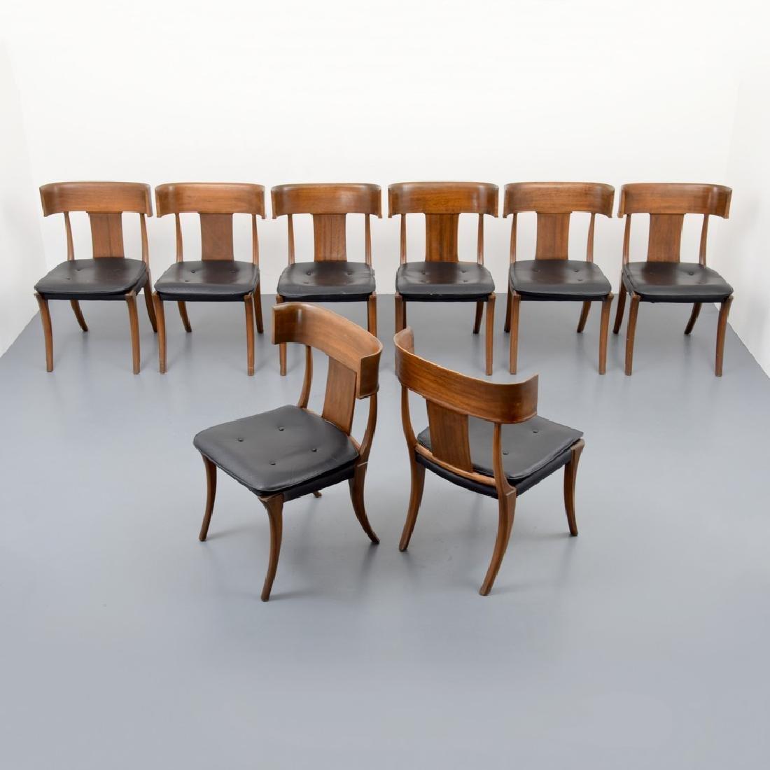 "Stewart & MacDougall ""Klismos"" Dining Chairs, Set of 8"