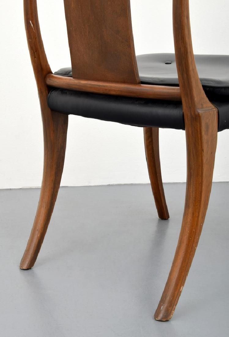 "Stewart & MacDougall ""Klismos"" Dining Chairs, Set of 8 - 5"