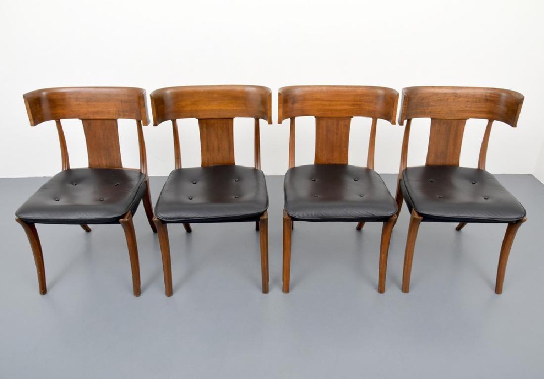 "Stewart & MacDougall ""Klismos"" Dining Chairs, Set of 8 - 8"