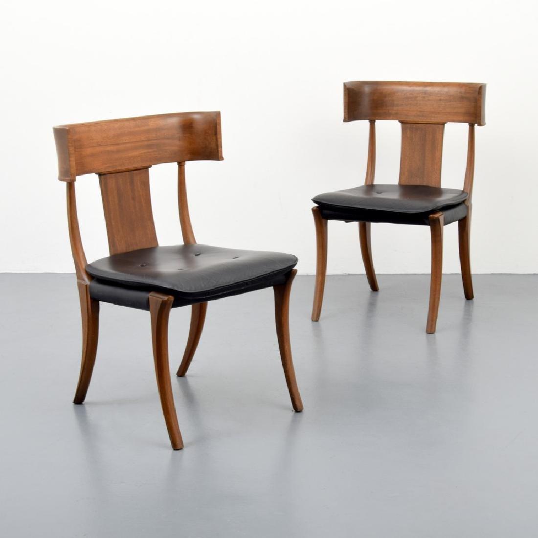 "Stewart & MacDougall ""Klismos"" Dining Chairs, Set of 8 - 9"