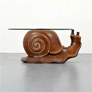 Federico Armijo Snail Coffee Table
