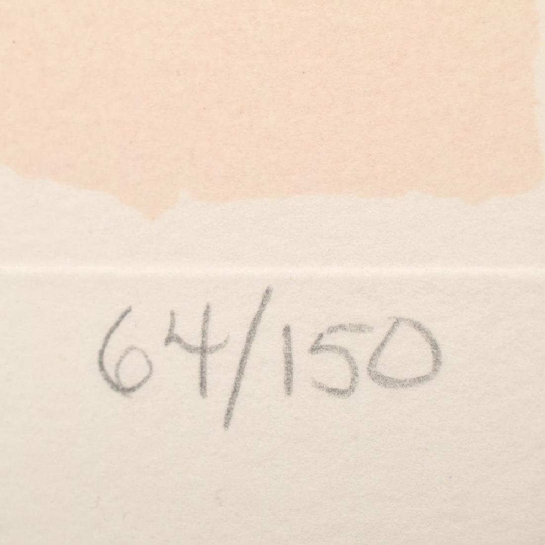 Robert Motherwell Screenprint, Signed Edition - 2