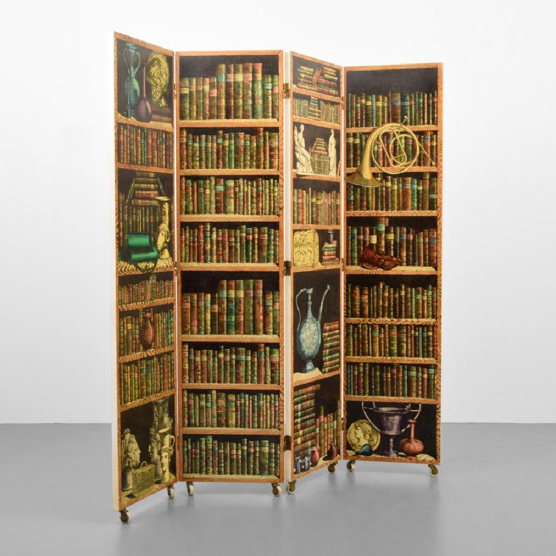 """Piero Fornasetti """"Libreria""""/""""Portico"""" Folding Screen"""