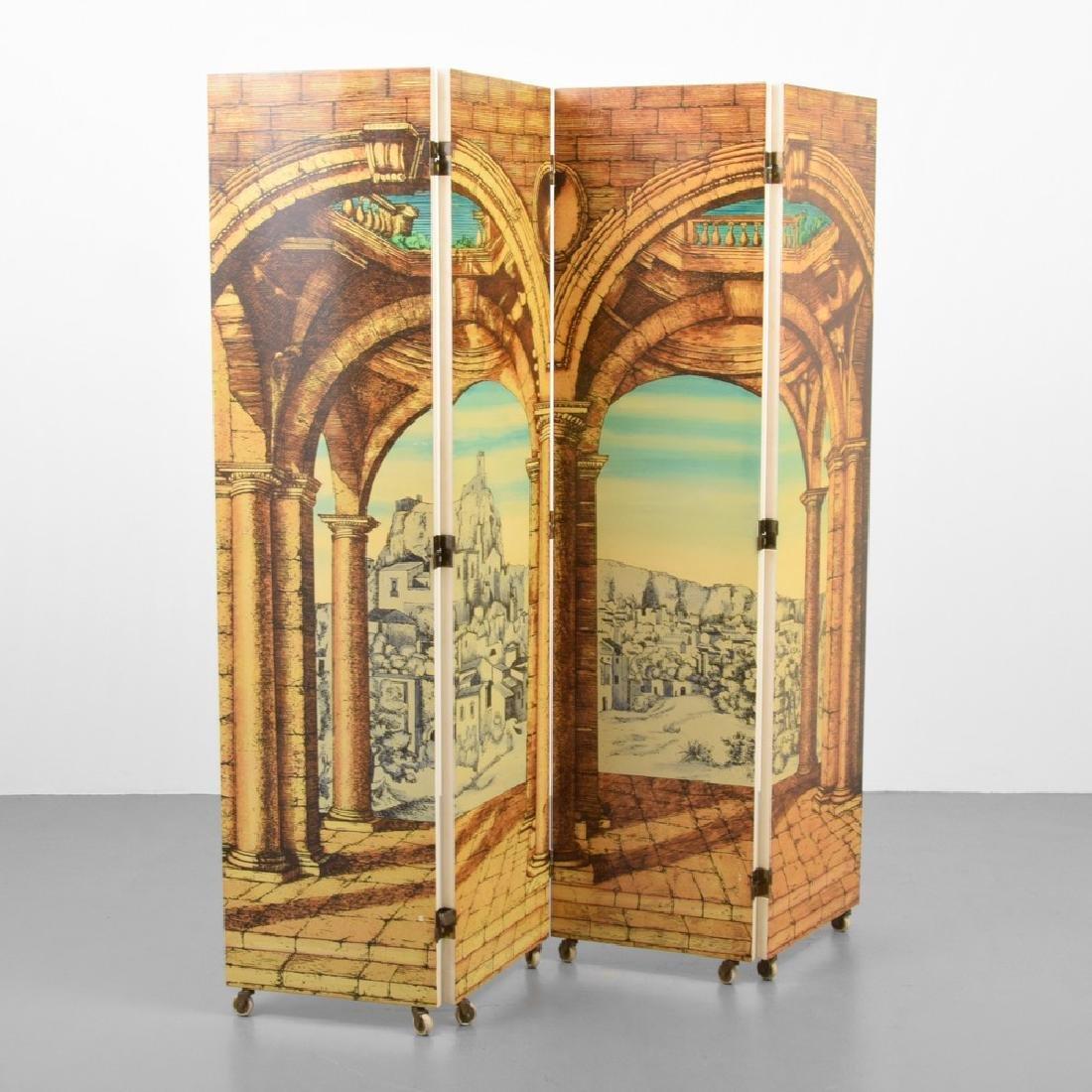 """Piero Fornasetti """"Libreria""""/""""Portico"""" Folding Screen - 2"""