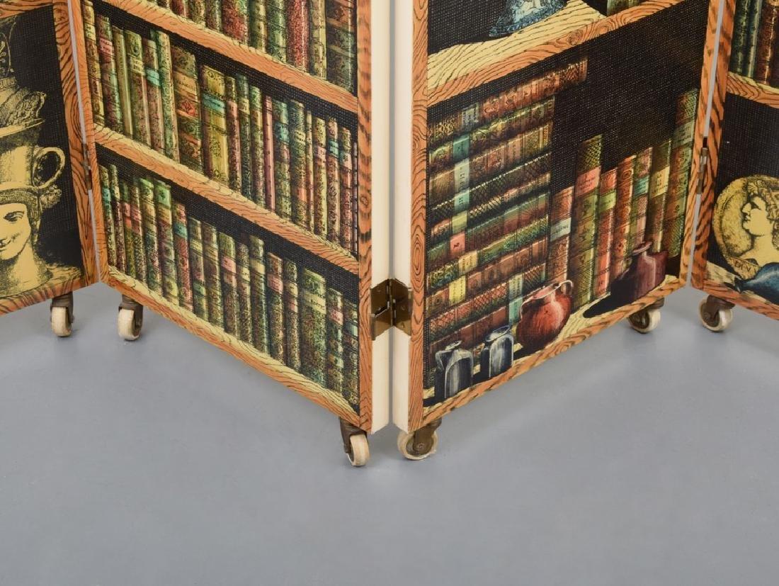 """Piero Fornasetti """"Libreria""""/""""Portico"""" Folding Screen - 4"""