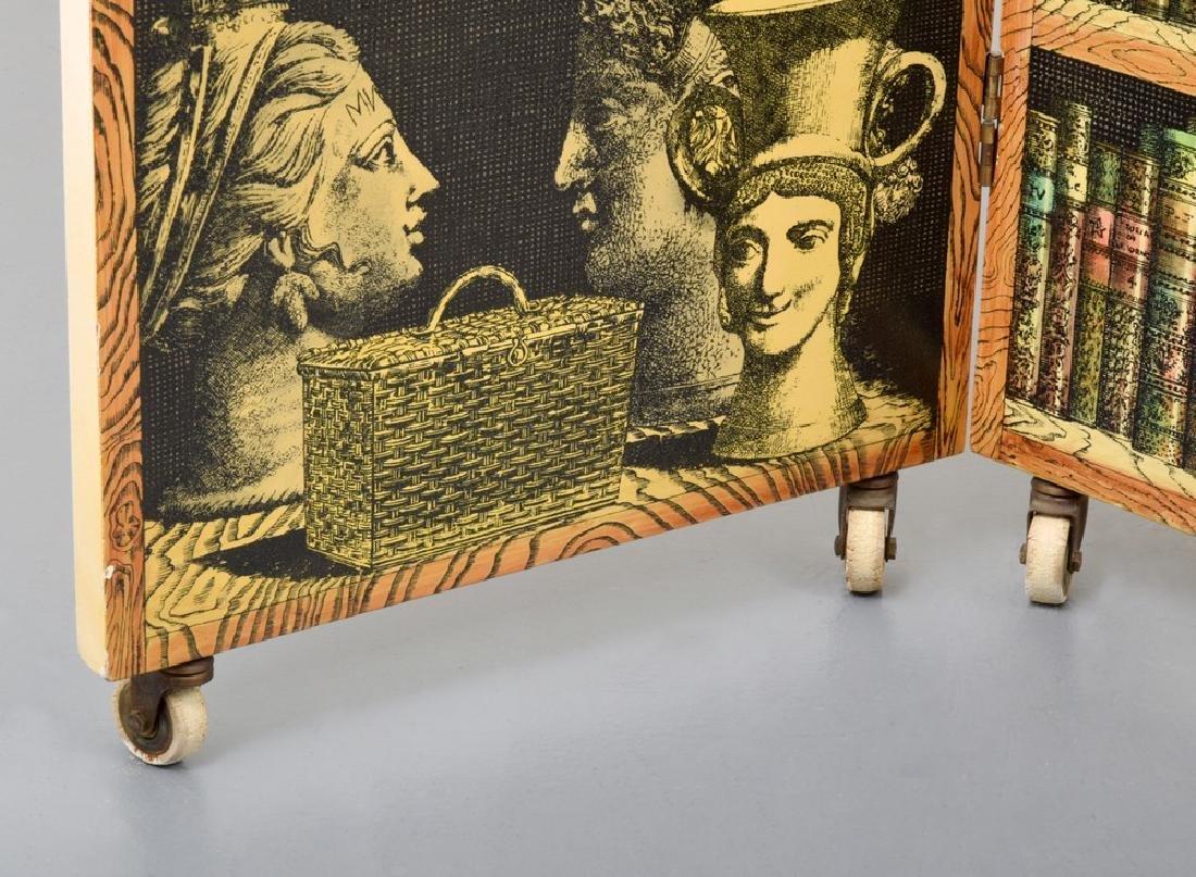 """Piero Fornasetti """"Libreria""""/""""Portico"""" Folding Screen - 5"""