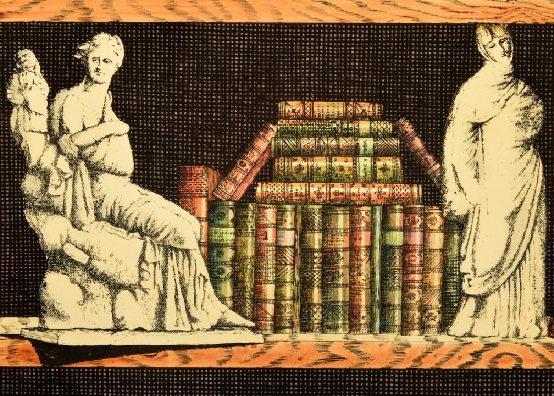 """Piero Fornasetti """"Libreria""""/""""Portico"""" Folding Screen - 6"""