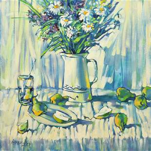 Irina Kovnacka Floral Still Life Painting