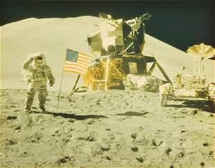 NASA Apollo 15 Mission Photo, Crew/Astronauts Signed