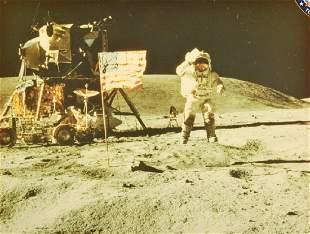 NASA Apollo 16 Mission Photo, Crew/Astronauts Signed