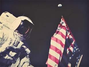 NASA Apollo 17 Mission Photo, Crew/Astronauts Signed