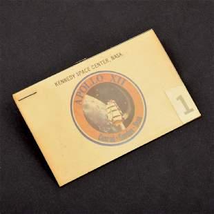 NASA Apollo 12 Launch Access Badge