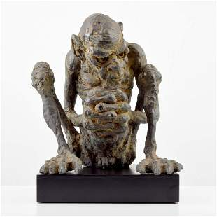 Large Lord of the Rings Gollum Sculpture Tolkien