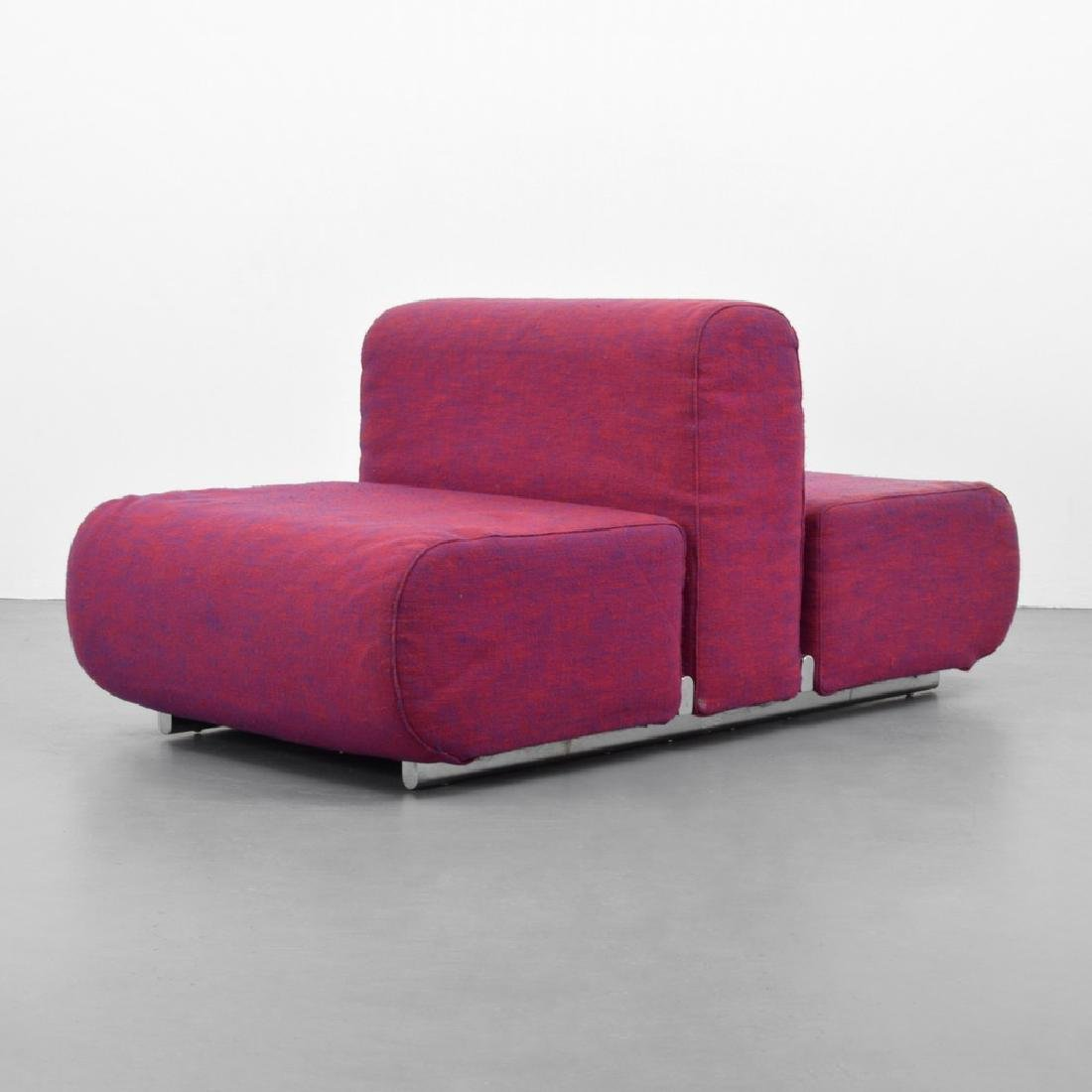 """Kazuhide Takahama """"Suzanne"""" Double Lounge Chair"""