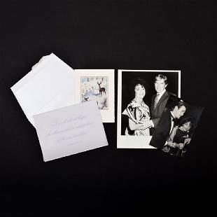 4 Pieces of Elizabeth Taylor Ephemera