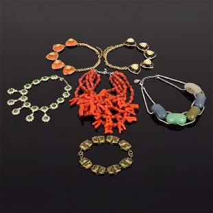 Large PONO Statement Necklace 5 Runway Necklaces