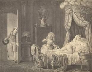 Alexandre Chaponniere Risque Print